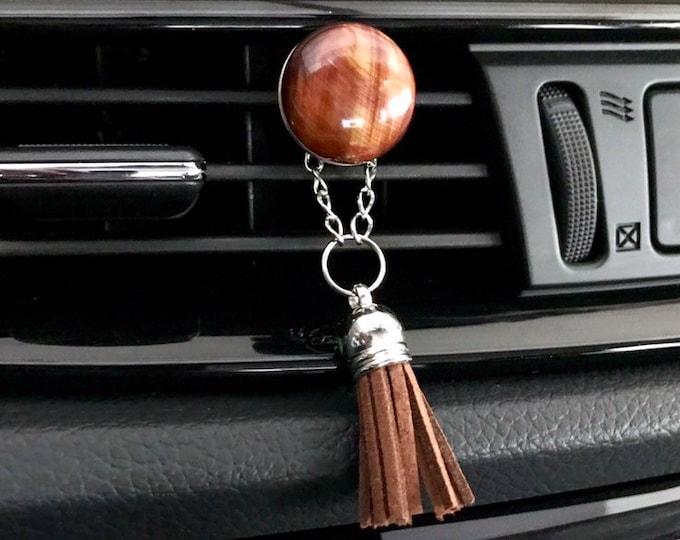 Essential Oils Car Diffuser, Aromatherapy Tassel Charm Diffuser