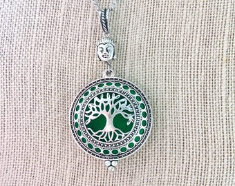 Diffuser Locket, Aromatherapy Necklace, Perfume Pendant, Essential Oils Locket, Scented Necklace