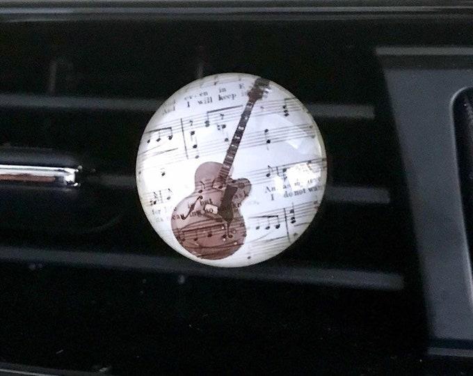 Music Instruments Aromatherapy Car Diffuser, Essential Oils Vent Clip,  Car Scent Locket