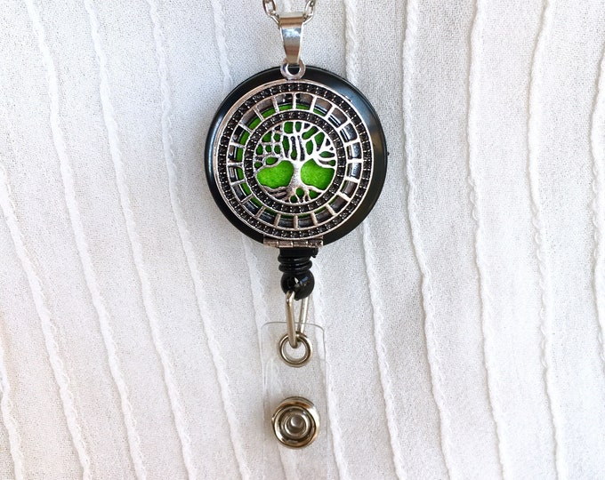 Essential Oils Badge Holder, Diffuser Badge Reel, Diffuser Badge Holder, Badge Holder Clip