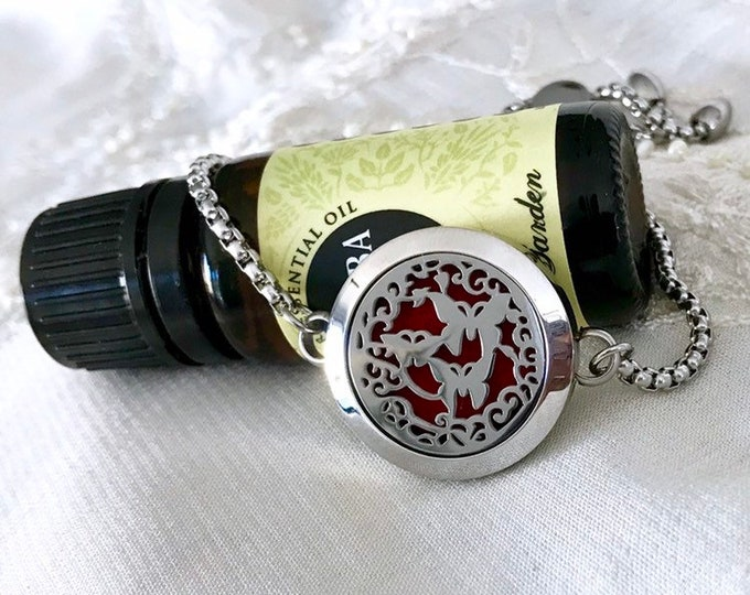 Essential Oils Bracelet, Aromatherapy Locket, Diffuser Bracelet