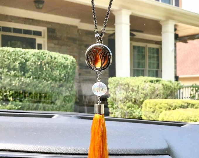 Car Essential Oils Diffuser, Tassel Locket Diffuser