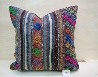 Living Room Pillow Green Pillow Rug Pillow Turkish 1600 Big Size Pillow Soft Pillow,Anatolian Pillow Yoga Pillow 16x36 Cushion Cover