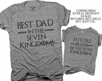 ff88155e Best Dad in the seven kingdoms, future ruler of the seven kingdoms, best  mom, best aunt, best papa, game of thrones, new parent, GOT B258
