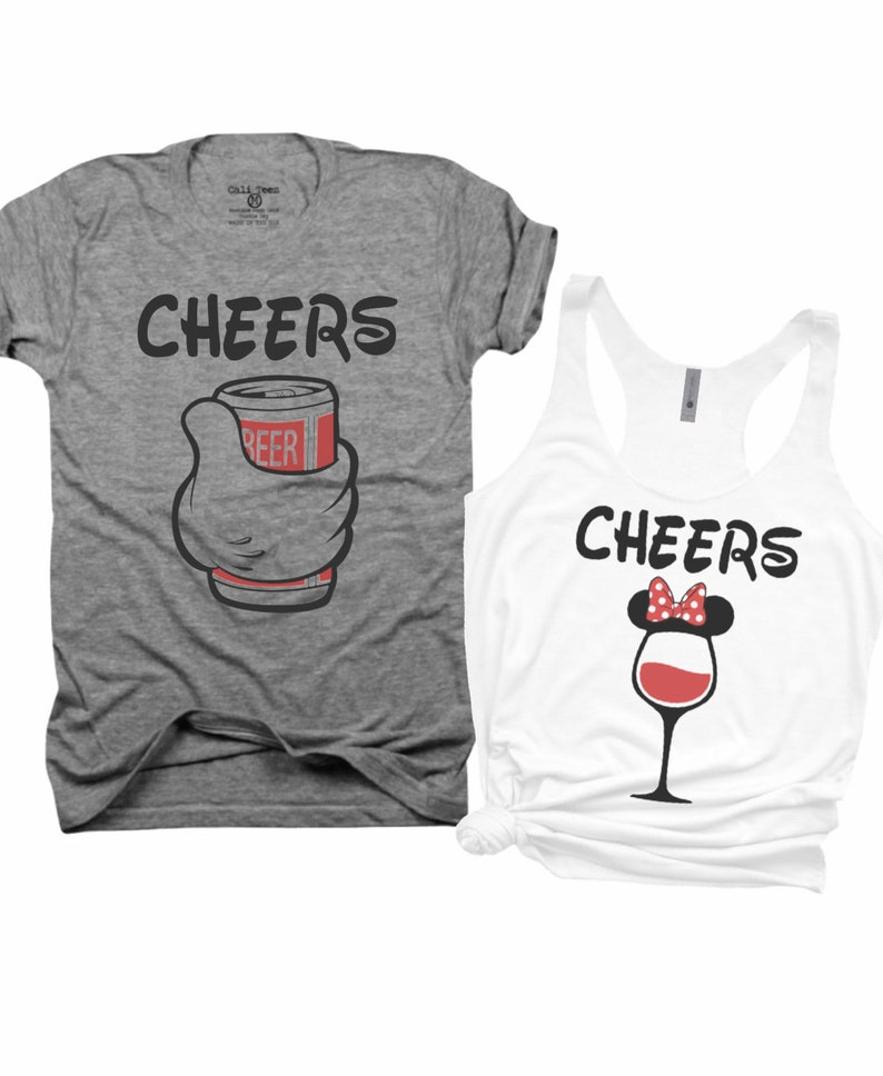 a6abbbf7 Cheers Beer and Wine mr and mrs his and hers food and | Etsy