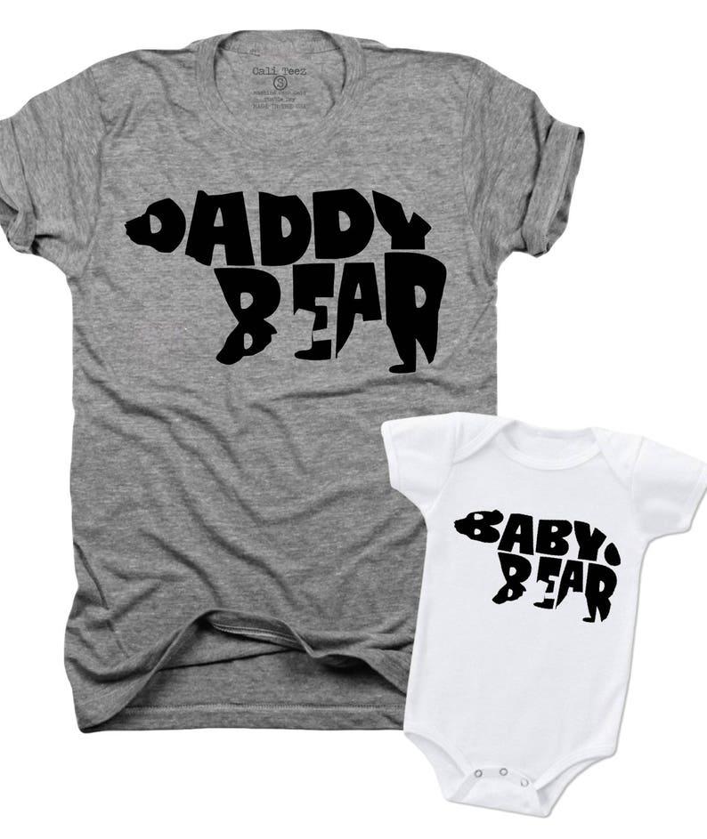 48e1fd2d703fb Papa ours bébé ourson cadeau de fête des pères papa et moi