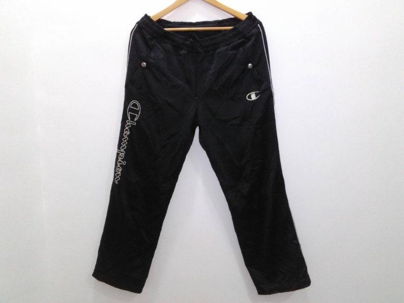 Activewear Mens Black Champion Pants Size Large Activewear Bottoms