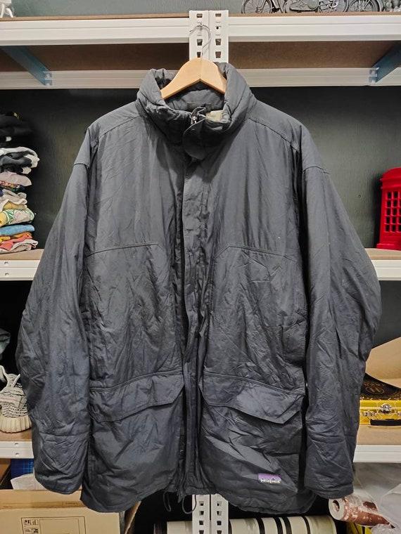 Patagonia parka jacket men XL black vintage patago