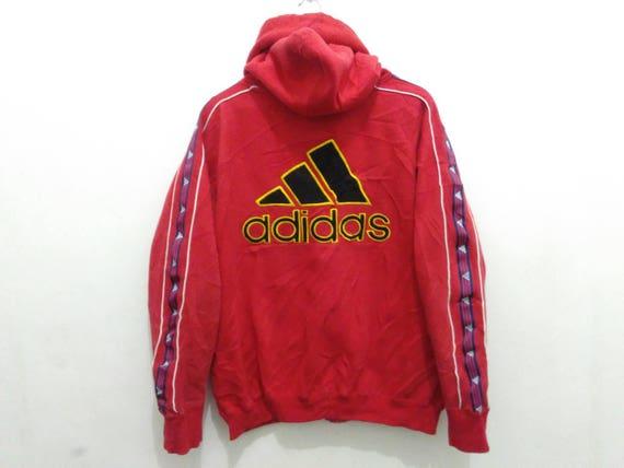 Adidas hoodie | Etsy