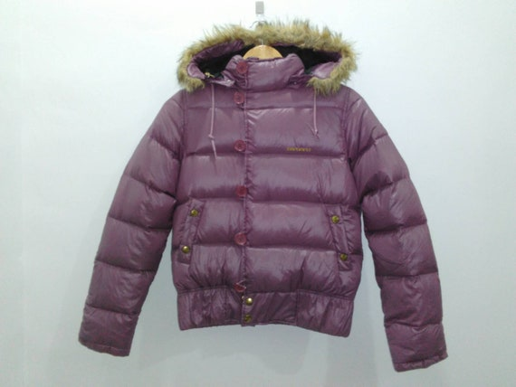 Carhartt Down Puffer Jacket Hooded Womens M Fit Mens Small Etsy