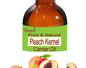 Peach Kernel Oil -  Pure & Natural  Carrier Oil