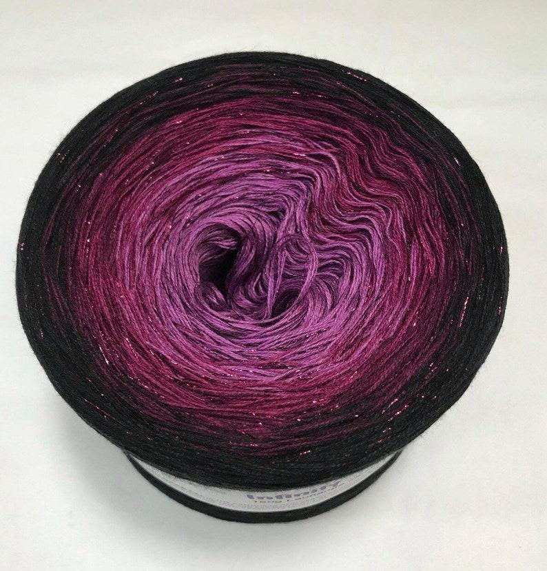 Yarn Gift Infinity Wolltraum Yarn Yarn Soft Yarn Gradient Yarn Purple Yarn Gift Ombre Yarn Glitter Yarn 3 Ply Yarn
