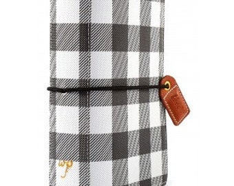 Websters Pages Buffalo Plaid Pocket size Travelers Notebook