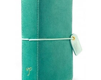 Websters Pages Aspen Green Pocket size Travelers Notebook