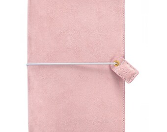 Websters Pages Soft Lilac Suede Standard size Travelers Notebook