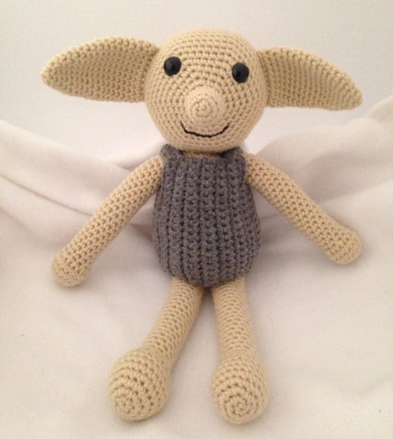 Dobby Harry Potter Inspired Dobby Dobby Doll Crochet Dobby Etsy