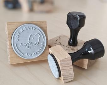Custom Rubber Stamp - Personalised Stamp - Laser Cut Rubber Stamp - Logo Rubber Stamp