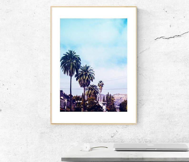 Palm Tree Druck Kalifornien Druck Kalifornien Fotografie   Etsy