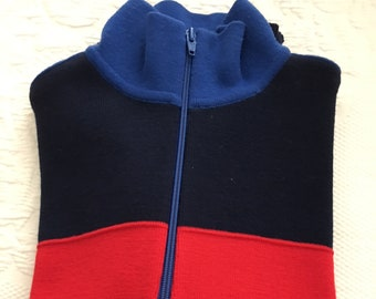 Ladies Ski sweater, front zip by Meister
