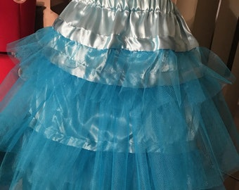 Hoop Petticoat / Tulle Petticoat / Schuyler Sisters Dress underskirt / Wedding Bridesmaid Flower Girl dress skirt / pick your color