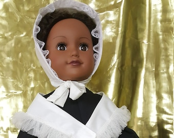 Doll clothes - Sojourner Truth doll clothes - HistoryWearz doll clothes - HistoryWearz Costumes for dolls - black doll clothes