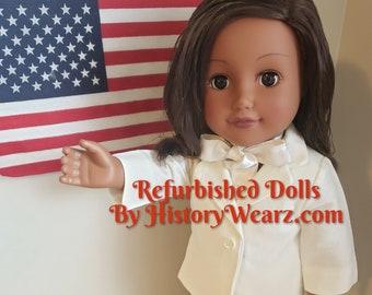 "Doll clothes - V.P. Kamala Harris doll clothes - HistoryWearz doll clothes - American History doll clothes - 18"" doll clothes"