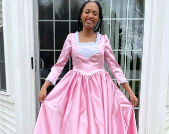 Schuyler Sisters Angelica Hamilton -Peggy- Child Sizes up to 14 - Historywearz Costume - Hamilton Costume