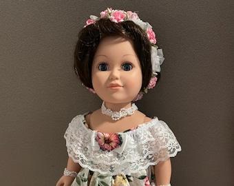 Mary Todd Lincoln doll / HistoryWearz™ refurbished dolls / First Lady doll / Historical Doll / American History doll