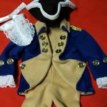 4th of July - Baby costume - Independance Day costume - Historical figures clothes - Colonial clothes - Presidents costume