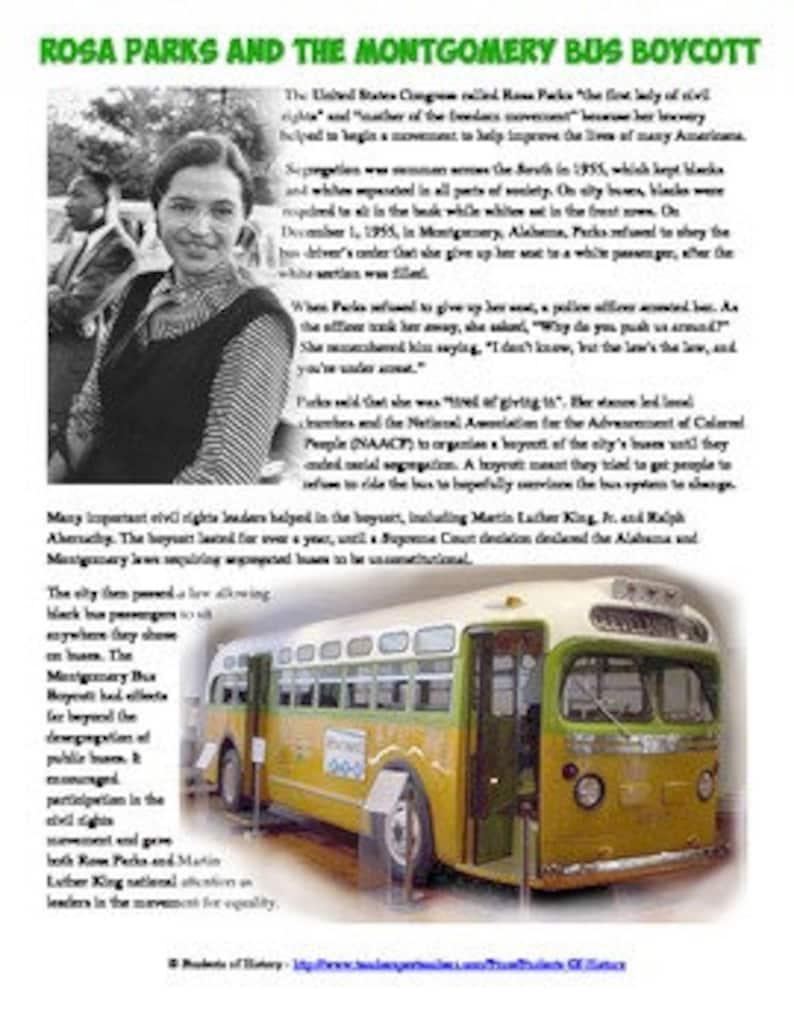 Rosa Parks costume  Montgomery Bus Boycott  Halloween Costume  HistoryWearz Costume   Inspirational Woman Costume  Costumes for girls