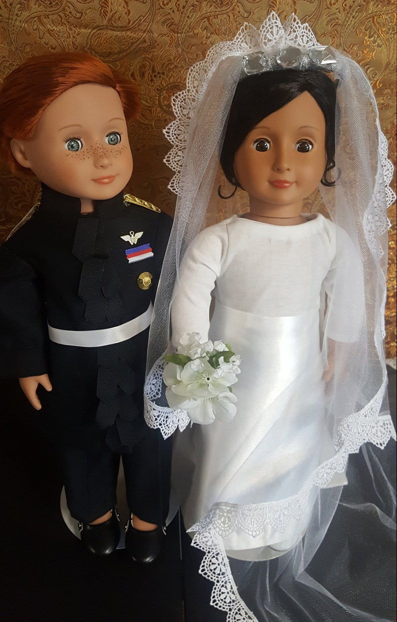 Childrens Duke and Duchess costumes  Harry and Meghan Wedding image 0