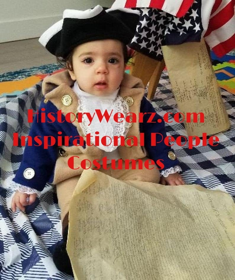 Colonial baby costume  HistoryWearz Costumes  Inspirational image 0