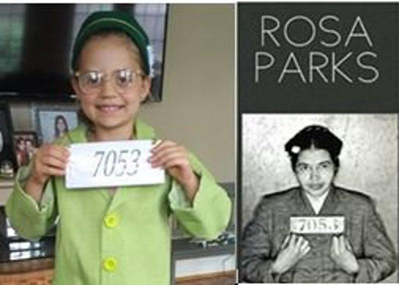 Rosa Parks costume  Montgomery Bus Boycott suit  image 0