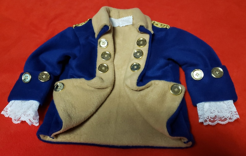 Colonial Jacket Costume   Historical figures clothes  image 0
