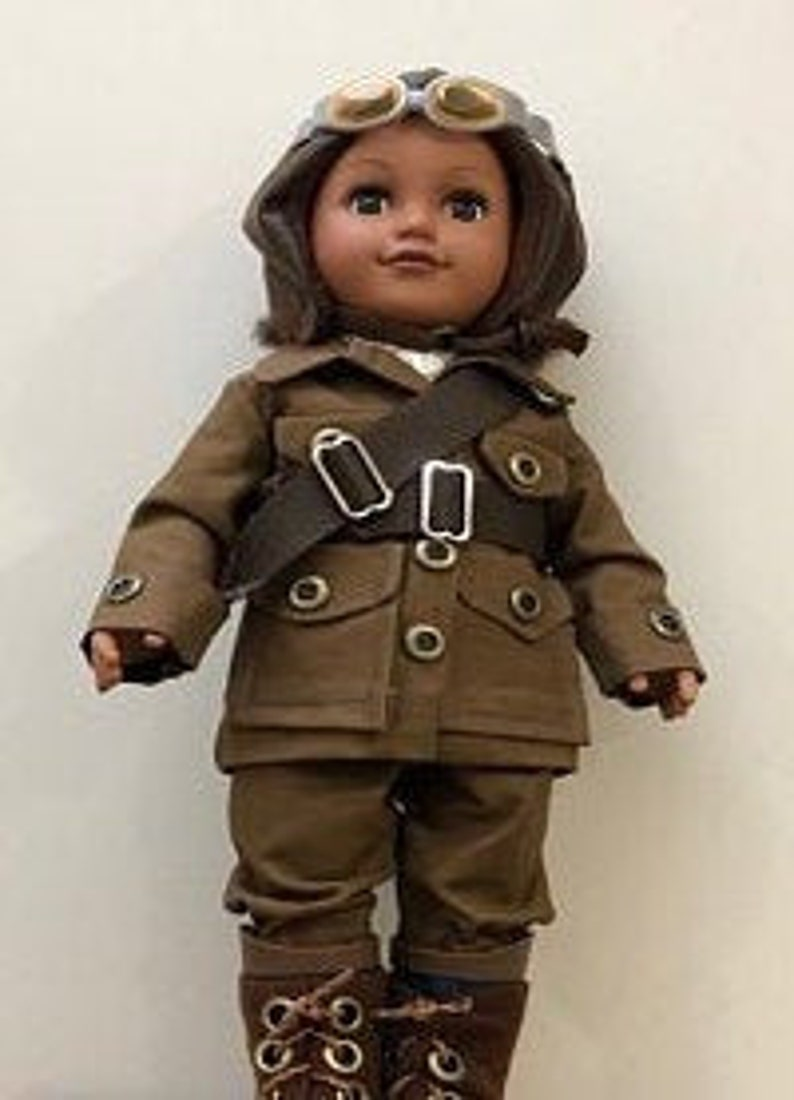 Bessie Coleman Doll  HistoryWearz Costumes for dolls  image 0