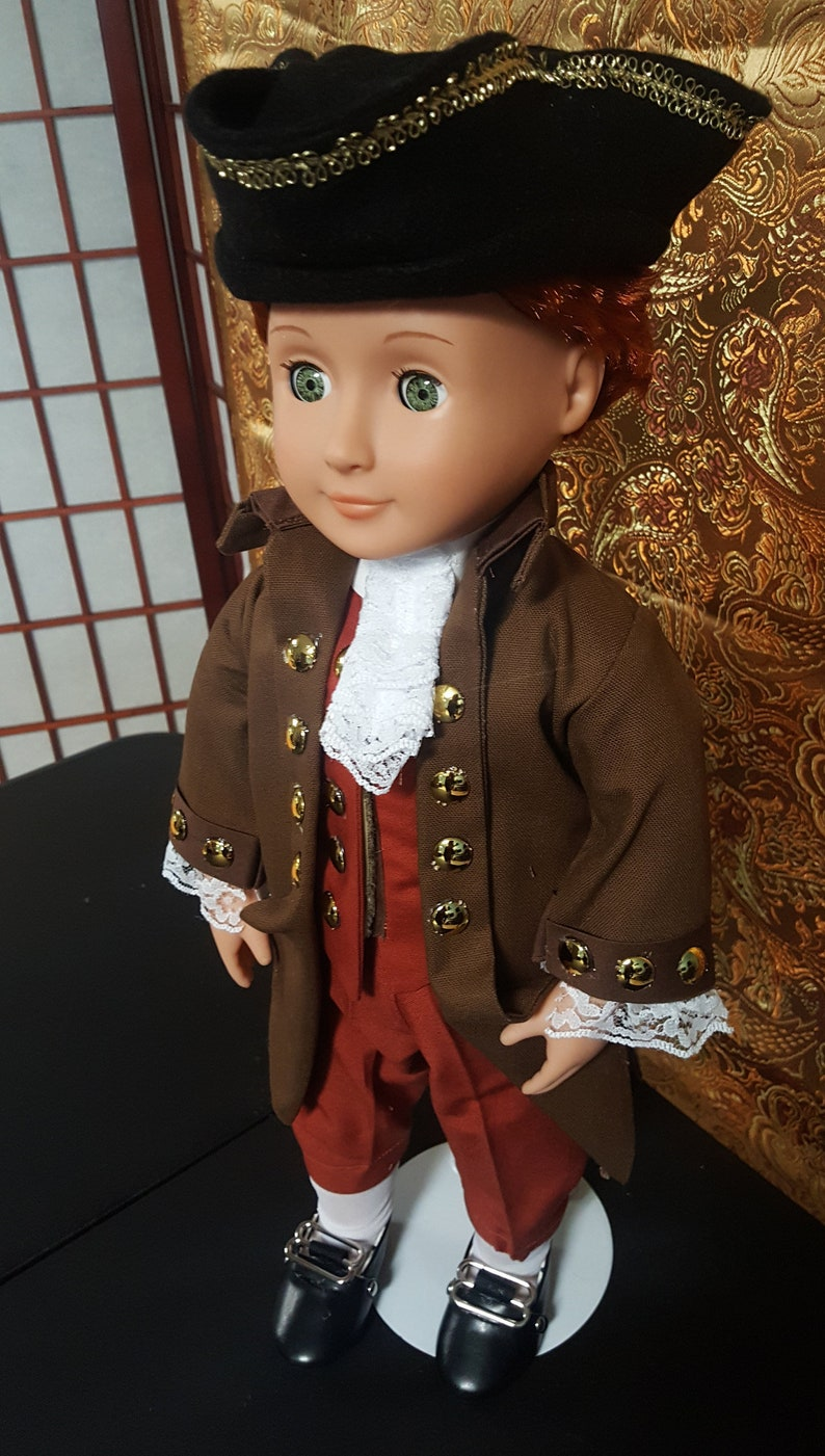 Thomas Jefferson 18 doll clothes  colonial period image 0