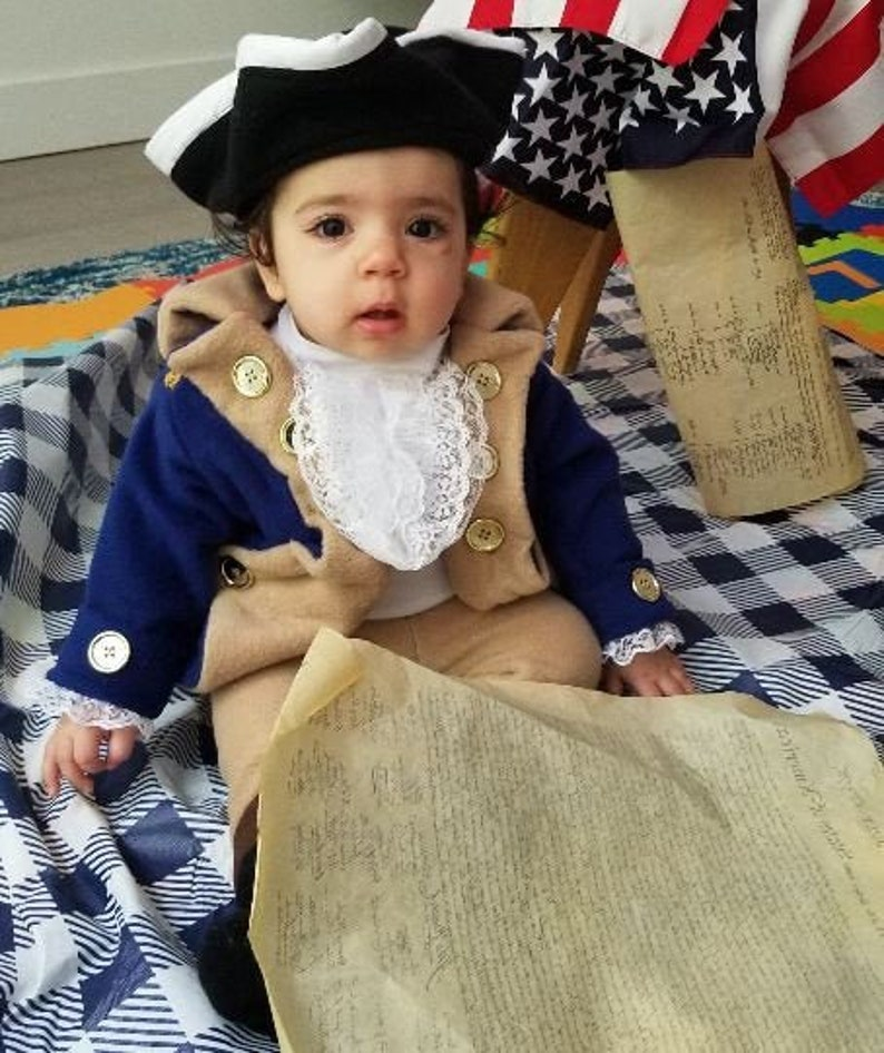 Colonial costume  Historical figures costume  childrens image 0