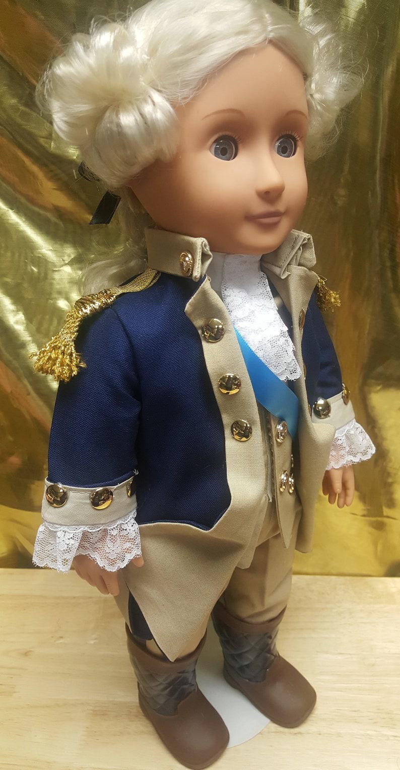 18 doll  George Washington  First USA President  image 0