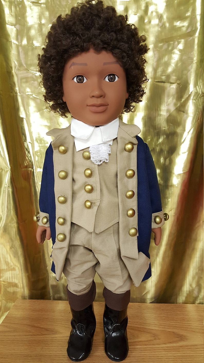 18 doll  Hamilton Broadway play  African American image 0