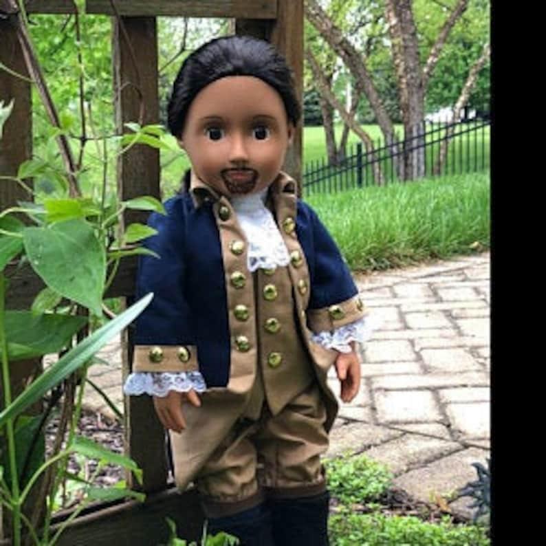 Hamilton Broadway play  HistoryWearz Costumes for dolls  image 0