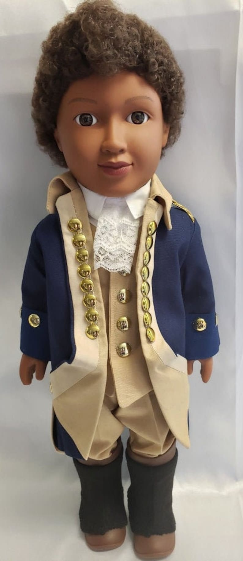 James Armistead Lafayette  HistoryWearz Costumes for dolls  image 0