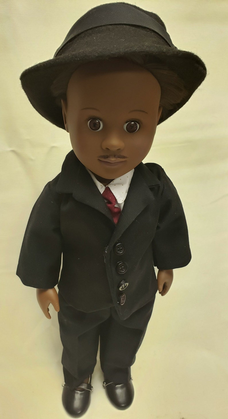 18 boy doll  Dr Martin Luther King  Historical doll  image 0