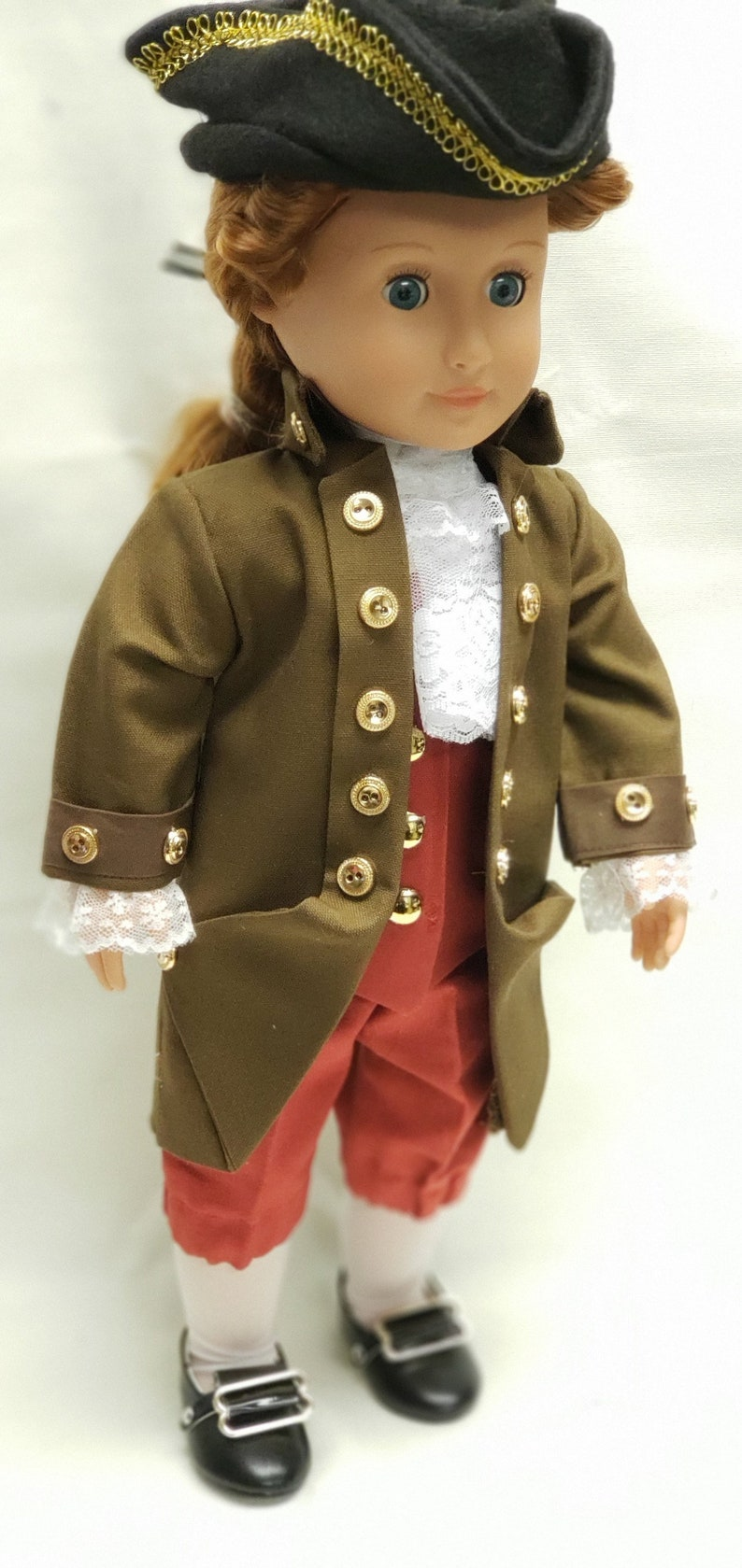 Thomas Jefferson  doll  historical doll  colonial clothes   image 0