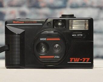 Vivitar IC 1200 Focus Free 35mm film camera   Etsy