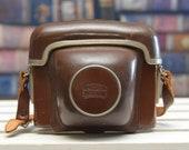 Vintage ZEISS IKON Original Leather Hard Camera Case for Zeiss Ikon Contessamat camera