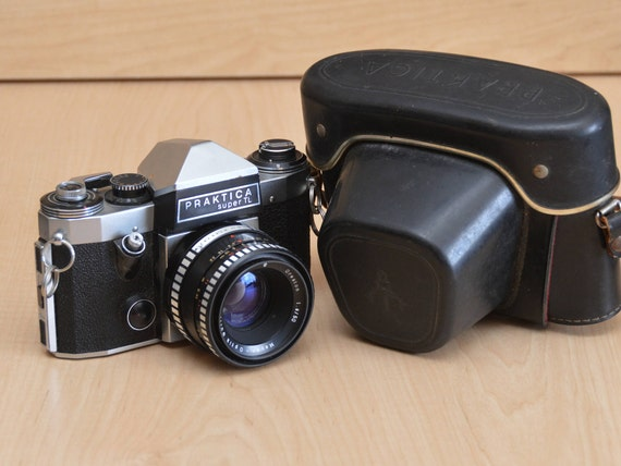 Praktica super tl analoge fotokameras objektive zubehör