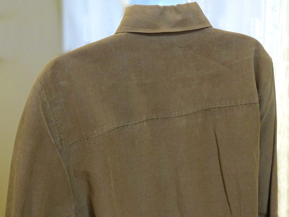 TRANSITIONS Silk & Linen Blouse XL - image 6
