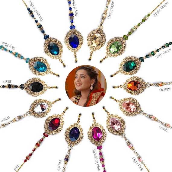 Headpiece Jewelry Tikka Small Tikka Headpiece Tikka Shiny Etsy