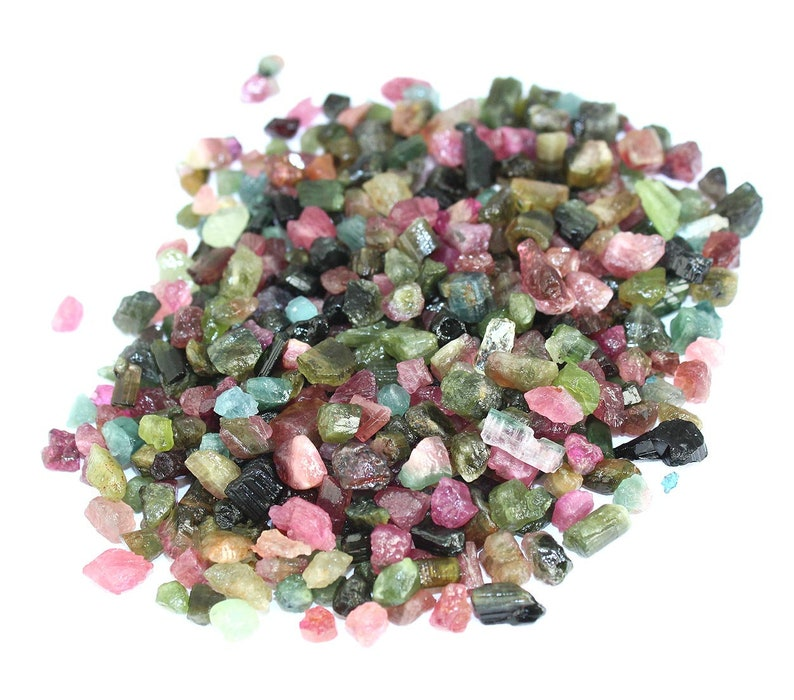 Natural Untreated Rough Raw Tourmaline Lot Multi Color Raw Tourmaline mix color lot rough tourmaline lot Rough Gemstone Jewelry Supplies