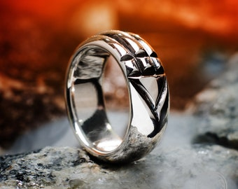 Ring Atlantean Special And Magic Silver Sterling 925 Atlantis Excellent Quality